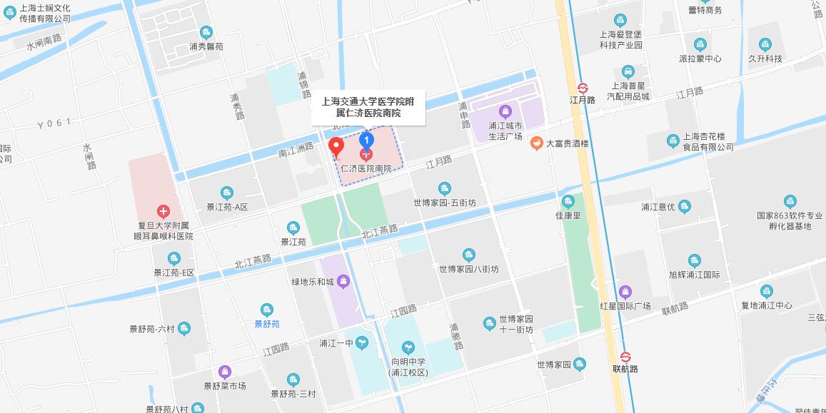 上海交通大学医学院附属仁济医院南院地图